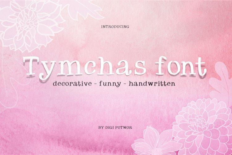 Tymchas font example image 1