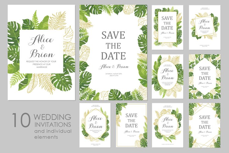 Wedding invitations set #3 example image 1