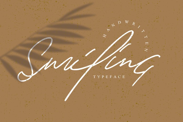 Smiling Font example image 1