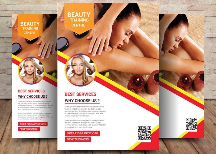 Beauty Training Flyer example image 1