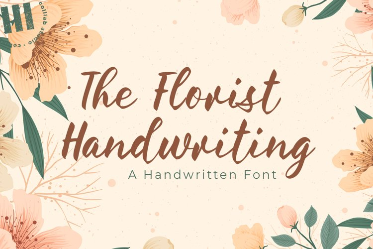 The Florist Handwriting - A Handwritten Font example image 1