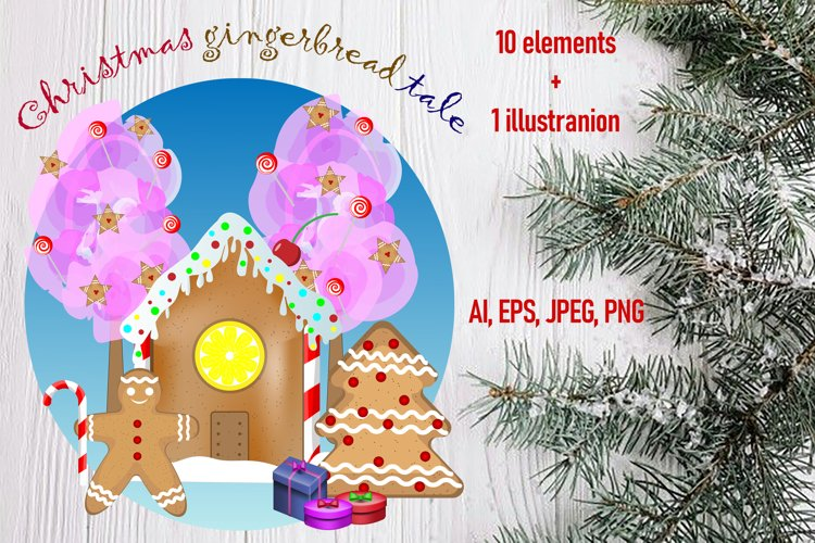 Christmas gingerbread tale example image 1