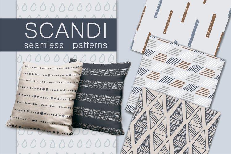 Scandinavian seamless patterns
