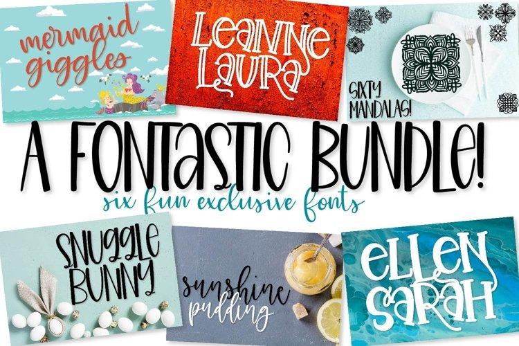 Fontastic Bundle - 6 Exclusive Fonts! example image 1