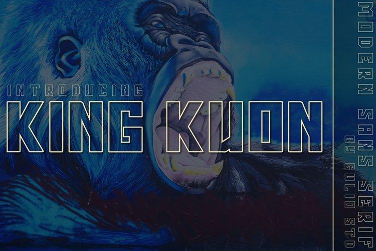King Kuon Outline example image 1