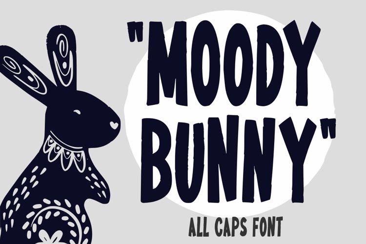 Moody Bunny example image 1