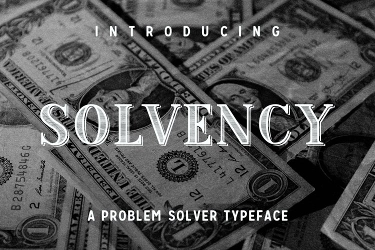 Web Font Solvency example image 1