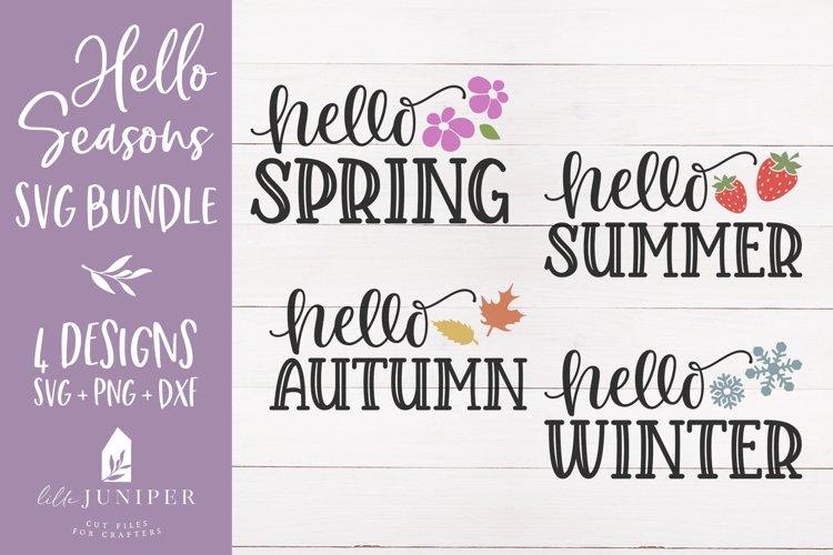 Seasons SVG Bundle, Sign Makers SVG Bundle example image 1