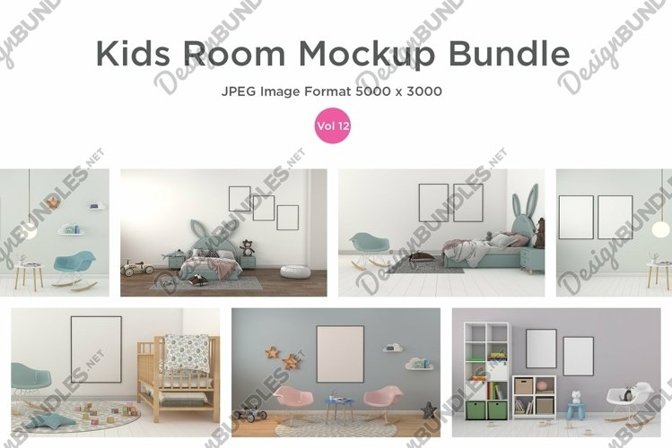 Kids Room Frame Mockups Vol - 12 example image 1