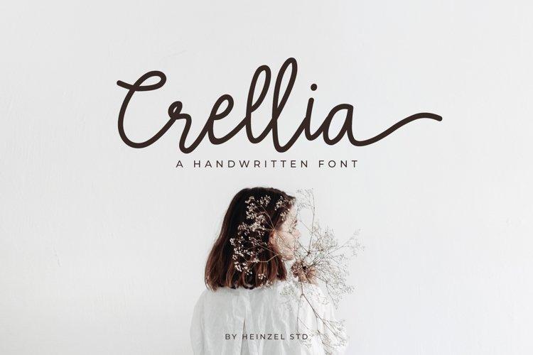 Crellia Script example image 1