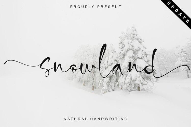 snowland example image 1