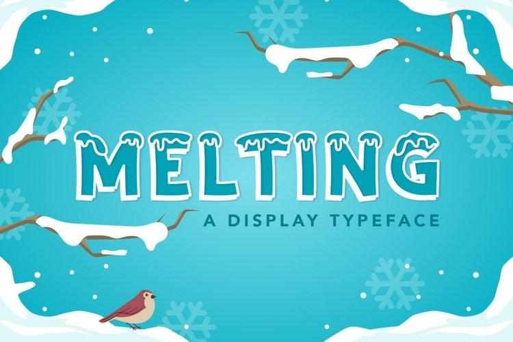 Web Font Melting