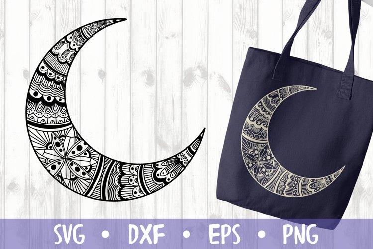 MOON SVG CUT FILE example image 1
