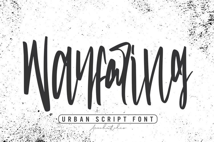 Wayfaring - Urban Script Font example image 1