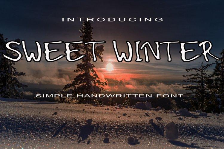 Sweet Winter example image 1