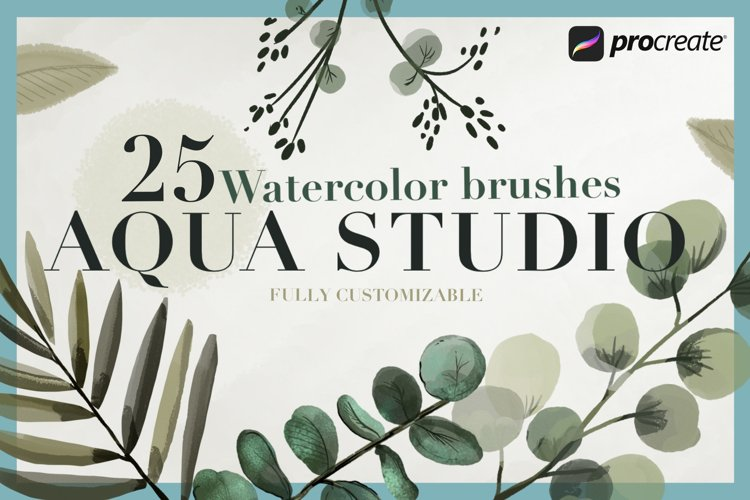 Aqua Studio Watercolor brushes example image 1
