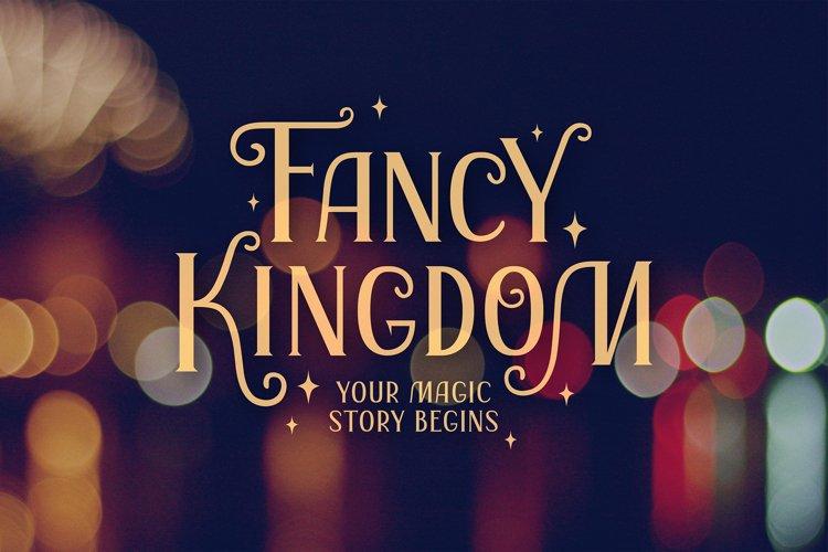 Fancy Kingdom   Latin & Cyr Serif