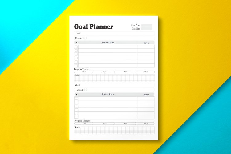 Goal Planner Gray