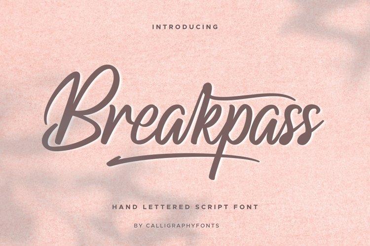 Breakpass