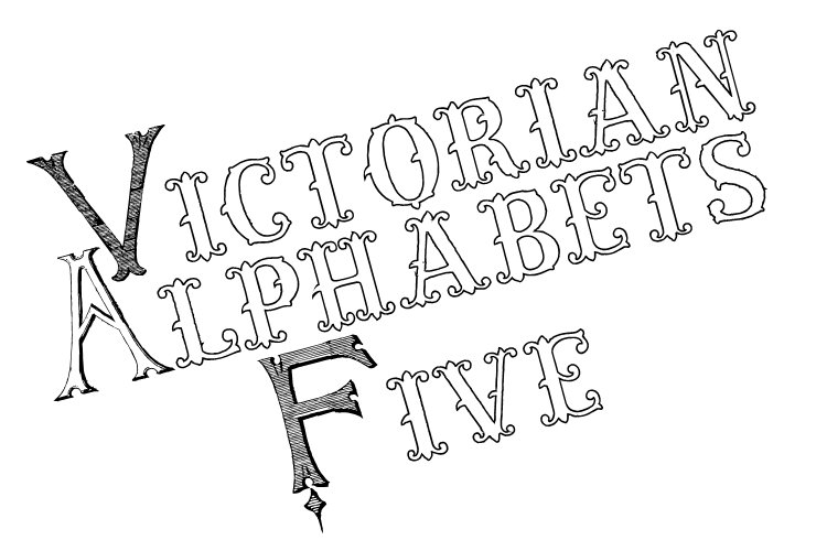 Victorian Alphabets Five example image 1