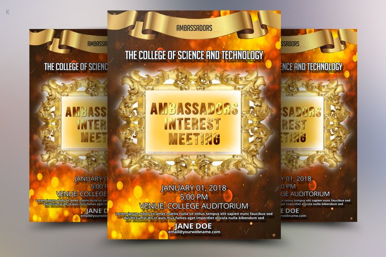 Educational Flyer Template example image 1