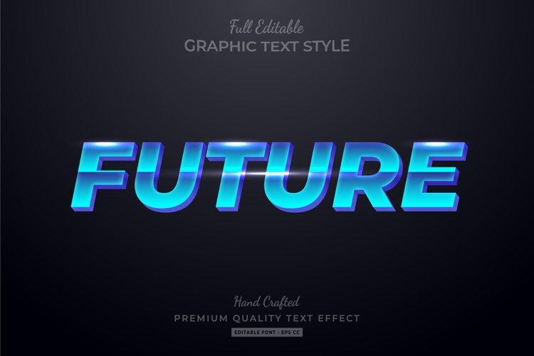 Future Editable Text Style Effect Premium example image 1