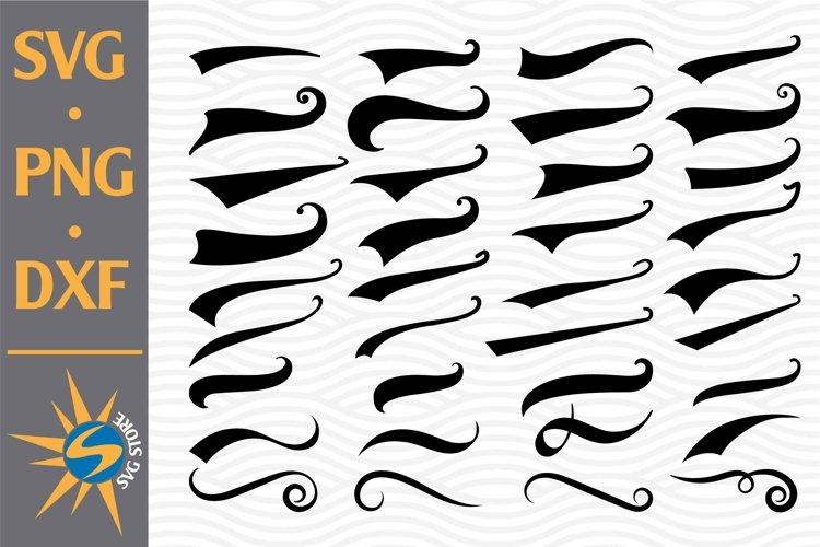 Swoosh SVG, PNG, DXF Digital Files Include
