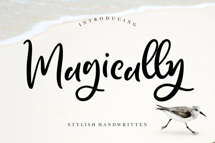 Magically Stylish Handwritten example image 1