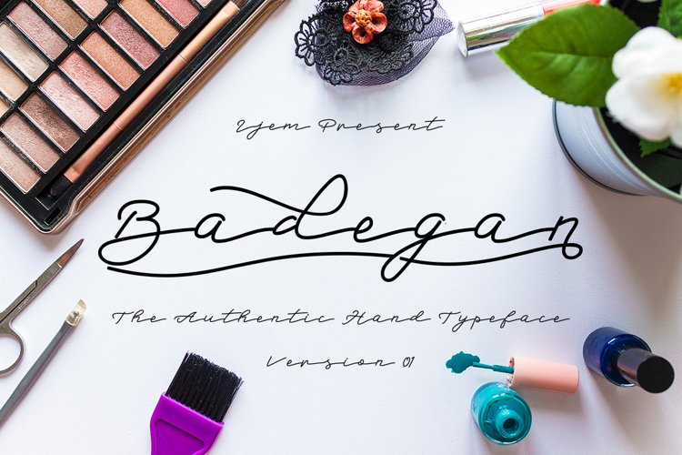 Badegan Script_OFF 30 example image 1