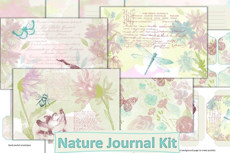 Watercolour Junk Journal Kit JPEG and PDF