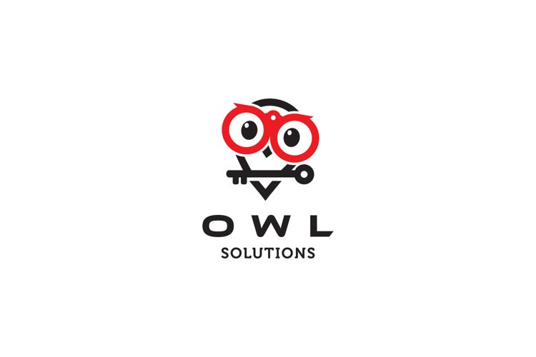 Owl Solution Logo example image 1