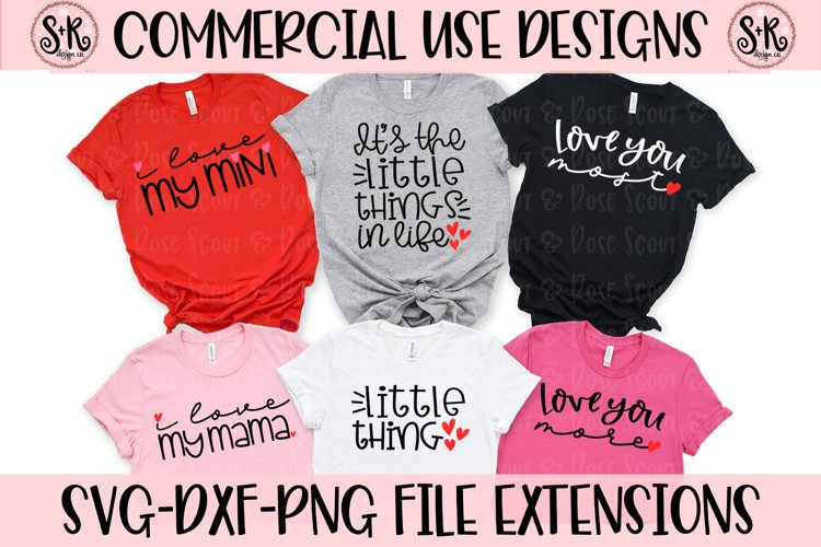 Mommy and Me Bundle SVG DXF PNG