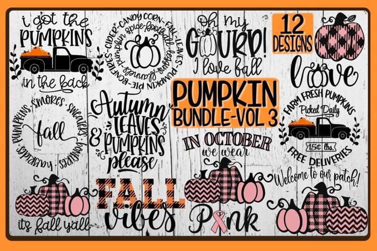 PUMPKIN Bundle - Vol 3- 12 Designs Included example image 1