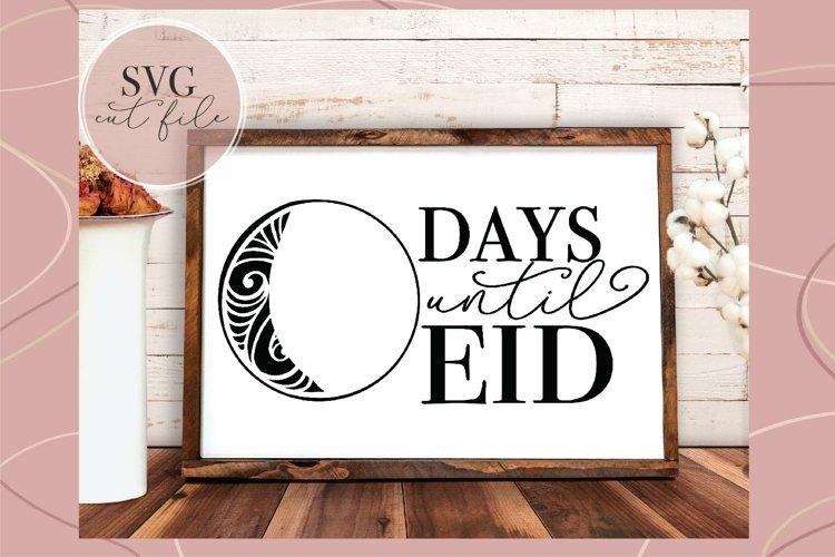 Days Until Eid svg, SVG for Eid, Eid Mubarak svg, Islamic