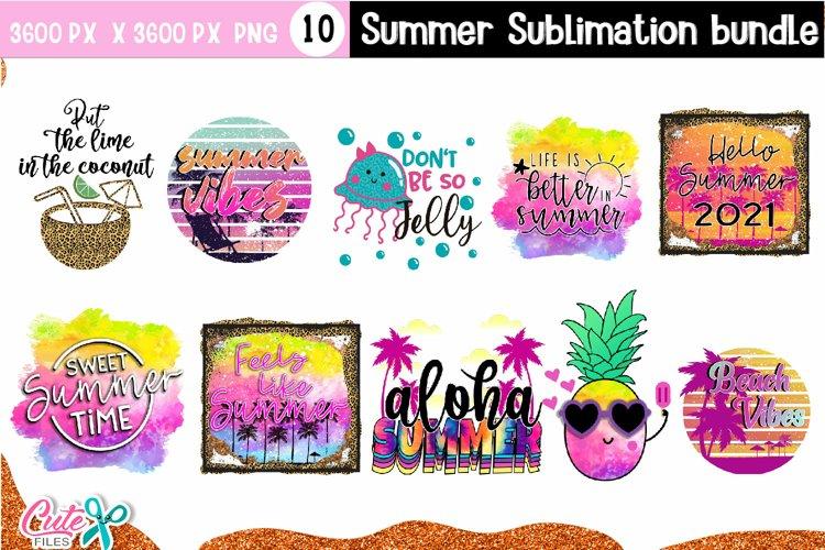 Summer sublimation quotes Bundle Vol.1