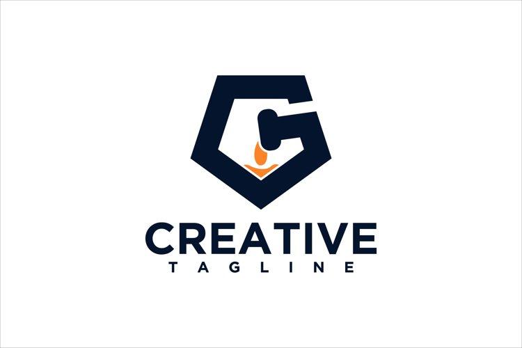 G letter logo example image 1