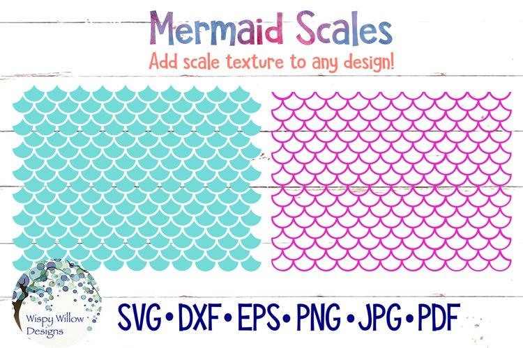 Mermaid Scales SVG Bundle example image 1