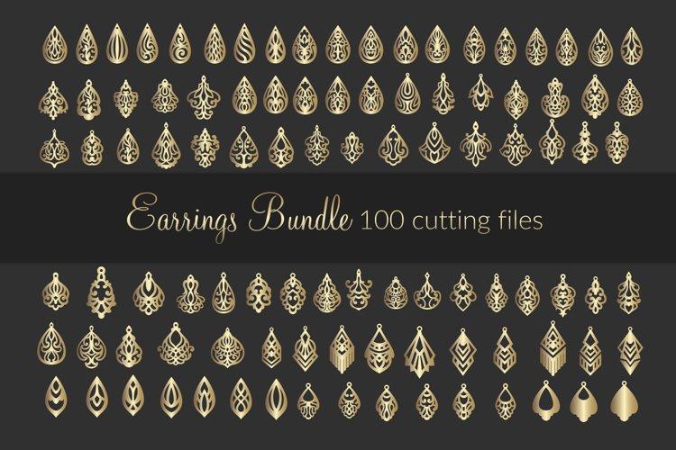 Download 100 SVG Leather Earrings bundle - cricut maker - laser cut ...