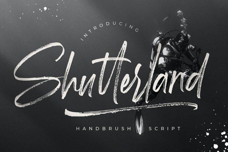 Shutterland Handbrush Script example image 1