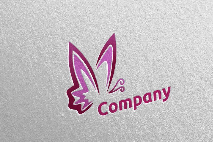 Butterfly Logo vol 5 example image 1