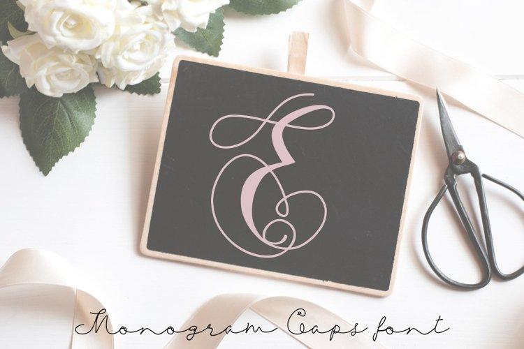 Monogram swans example image 1
