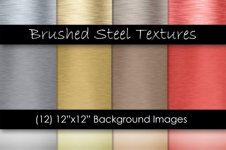 Brushed Steel Metal Textures - Metal Backgrounds
