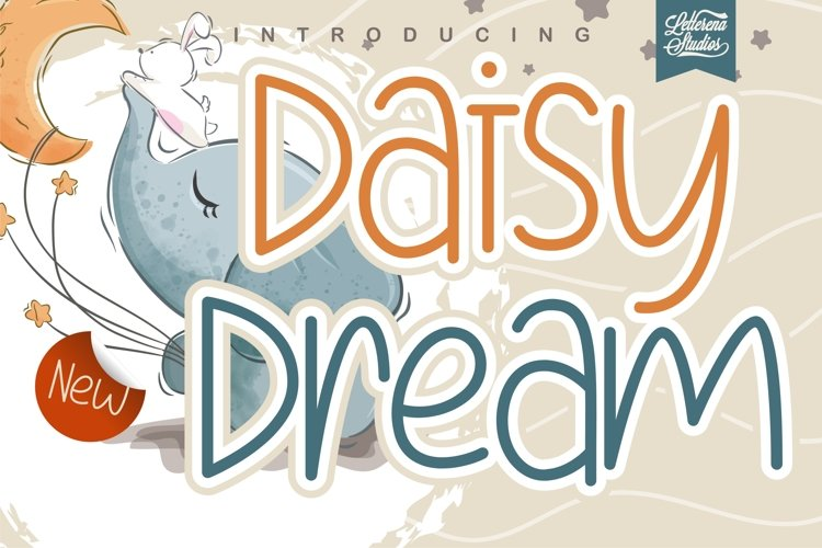 Daisy Dream - Crafting Kids Font example image 1