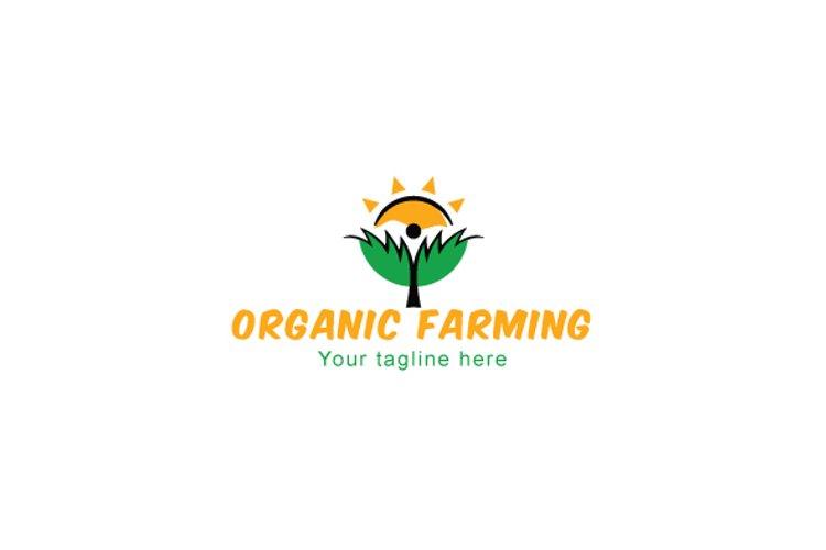 Organic Farming - Iconic Figurative Stock Logo Template example image 1