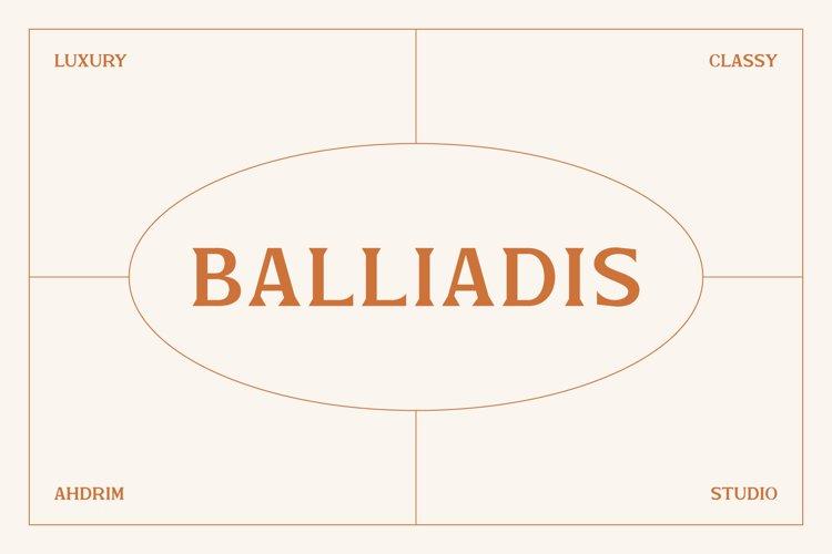 Balliadis example image 1