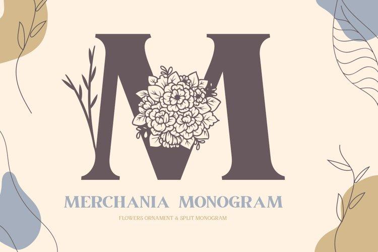 Merchania Monogram example image 1