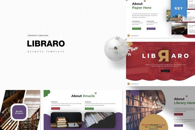 Libraro | Powerpoint, Keynote, Google Slides Template example image 1