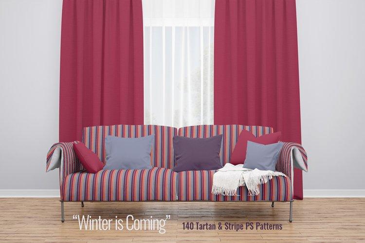 Winter is Coming - Bundle of Tartan & Stripe PS Patterns