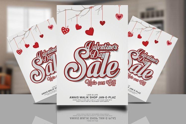 Valentines Sale Flyer example image 1