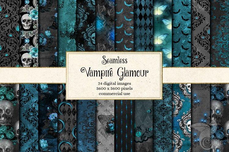 Vampire Glamour Digital Paper example image 1